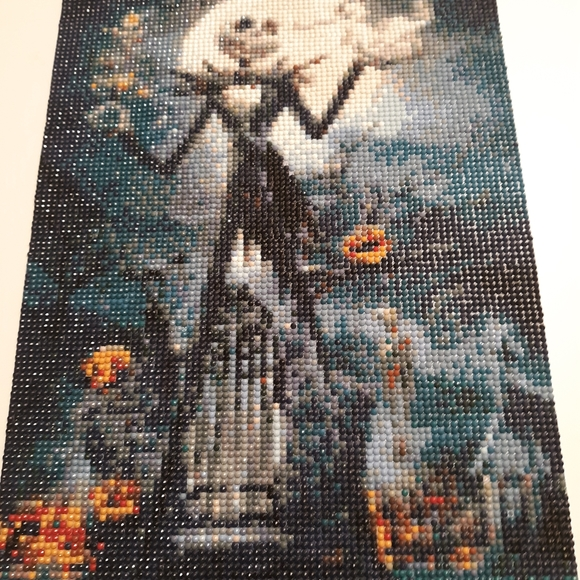 Nightmare before Christmas dymond painting
